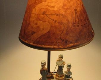 Civil War Soldier Table Lamp