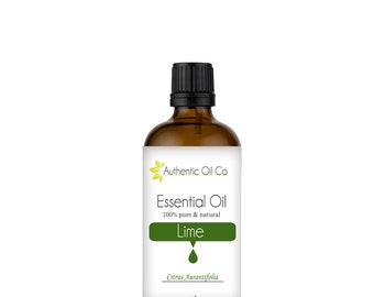 Lime Essential Oil 100% Pure 10ml 50ml 100ml 250ml 500ml 1 litre