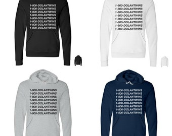 1-800-DOLANTWINS Pullover Hoodie