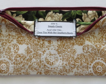 Persette #29 Personalized Zippered Organizing Pouch
