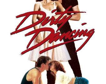 Dirty Dancing 1987 Drama Patrick Swayze Jennifer Grey Movie POSTER