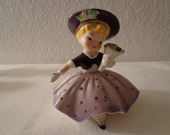 Vintage Adorable Little Girl Figurine