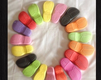 Rubber sole for crochet , handmade shoe sole , sole to crochet shoes