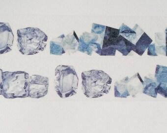 Design Washi tape ice cubes