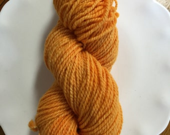 Goldenrod SuperFine Merino Wool Hand Dyed Yarn