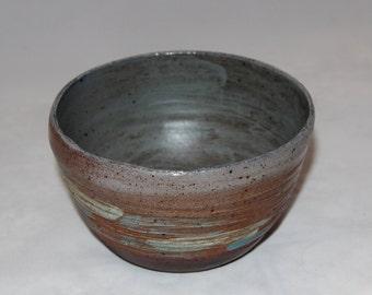 Soda Fired Ceramic Bowl