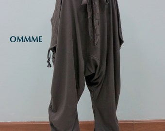 OMMME harem pants 001 (Brown Color)