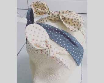 Girls' knotted headband