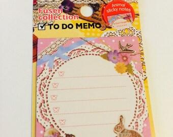 Lace Vintage Memo Sticky Notes