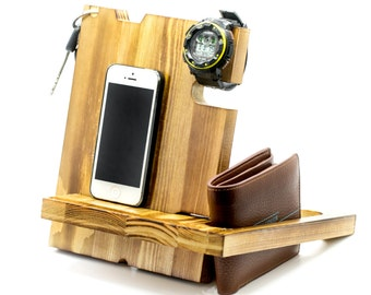 Gift For Husband,iPhone Docking Station,iPhone Accessories,Anniversary Gifts for Men,Christmas Gifts For Men,iPhone Docking Station