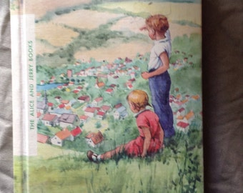 The Alice and Jerry Books FRIENDLY VILLAGE 1957 edition