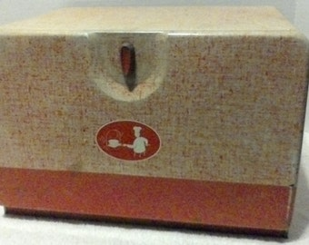 Vintage Harvell Space Saver Bread Box