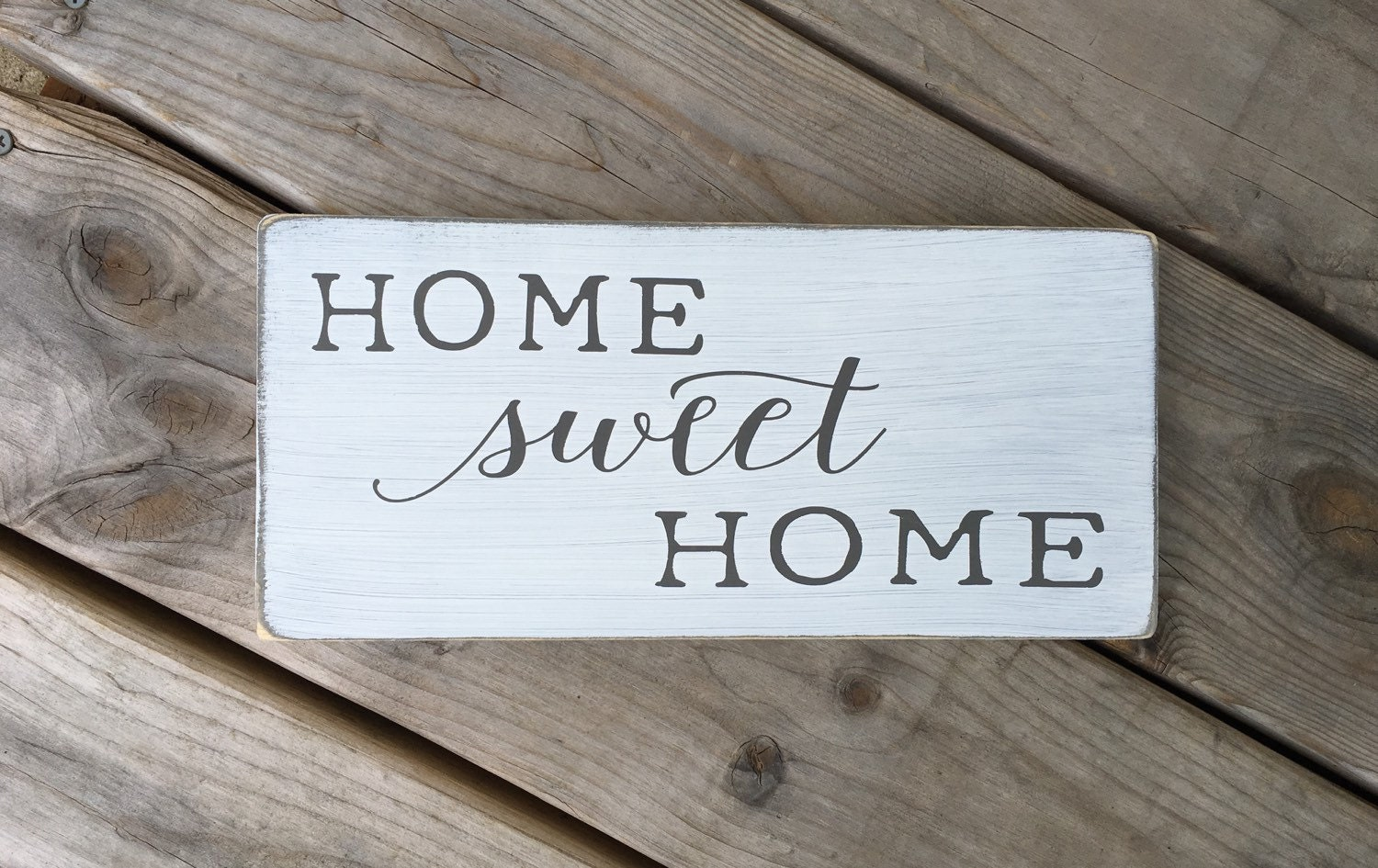 Home sweet home home sweet home sign new home by ourrusticnest for New home sign