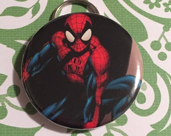 Spider Man Bottle Opener Keychain