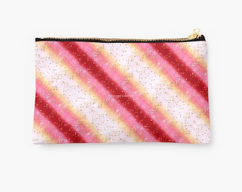 Carry-All Pouch, Pink Sakura Sunrise, 2 Sizes Available!