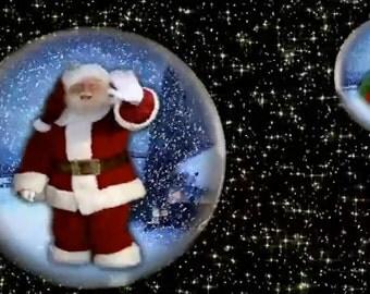 Christmas Globes Animation