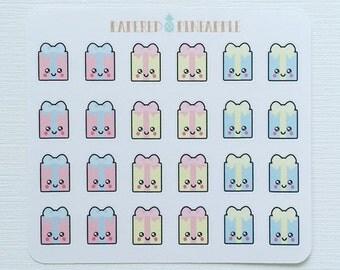 Cute Gifts Stickers (Kawaii)