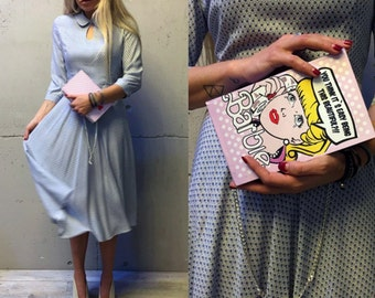 """Book Clutch  """"Barbie"""""""