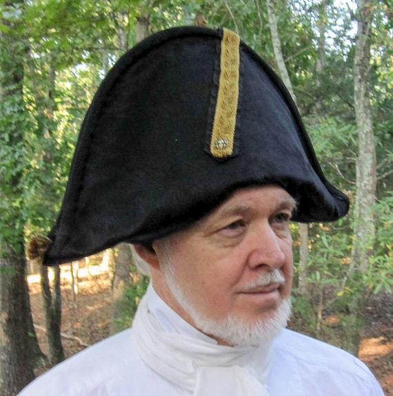 Bicorn Hat: 18th Century Bicorn Hat