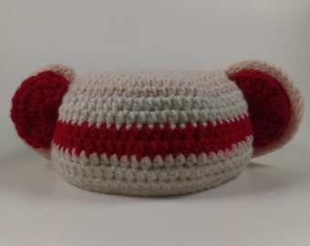 Crochet Sock Monkey Baby Hat