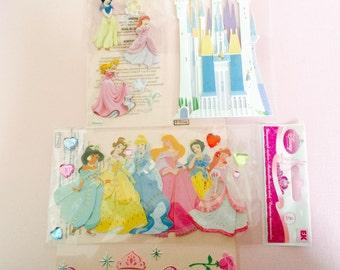 Disney Jolee Princess Embellishments, Ready to Assemble Disney Princess and Decor Embellishments, DIY Craft Supplies
