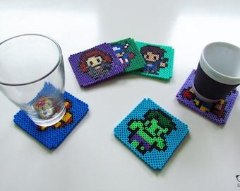 Hero-inspired six coasters