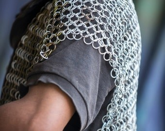 Homemade Chainmail Armor