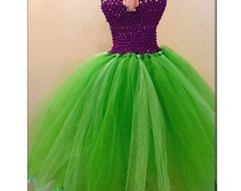 Princess Ariel halloween costume. Tutu dress.