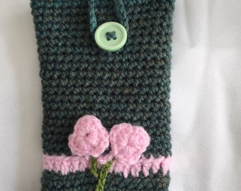 Mobile Phone Crochet Pouch