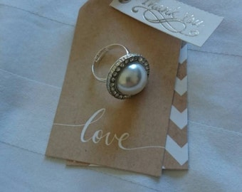 Handmade dress ring