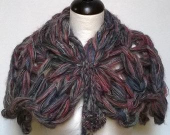 arm Scarf knitting