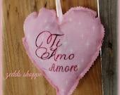 Valentine Heart  Shabby chic , Gift for Boyfriend, Gift for Girlfriend , Valentine , For Her, Gift For Him , Anniversary Gift , Lavender