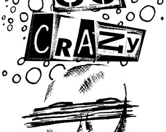 Not So Crazy Zine DIGITAL DOWNLOAD // Mental health zine