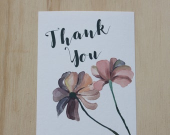 Thank You Set of 10 Fold Cards