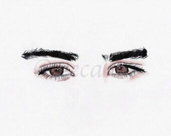 19. Zayn's Eyes