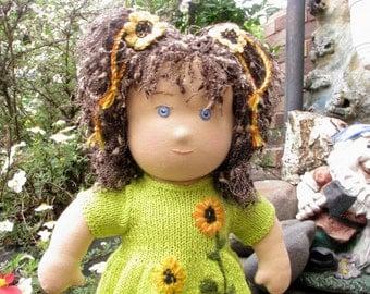 Waldorf doll. Organic doll. Natural doll. Fabric doll. Best doll