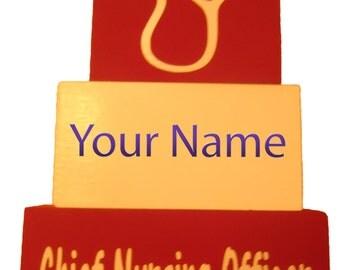 Personalized Profession Name blocks, Name plaques, New Professional Title blocks, CEO Name Title blocks, Block sayings, Desk plaque