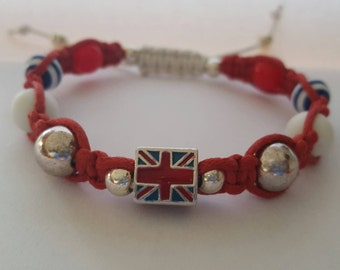 United Kingdom Festival bracelet