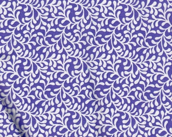 Purple Swirl Quilting 100% Cotton Fabric