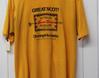 Vintage MacDales Butter Scotch Schnapps T-Shirt