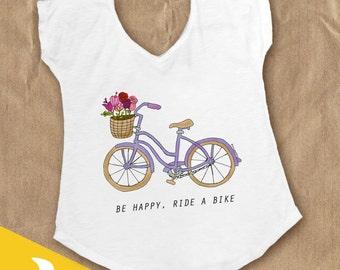 Bike Lovers shirt- Polycotton