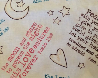 Scriptures Baby Crib Sheet by Dance With Joy Baby Bedding