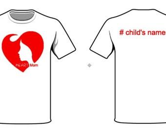 CHD Awareness Heart Mom