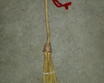 Handmade Yucca Broom Besom
