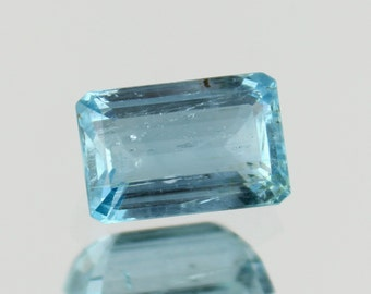 3.35 Cts. Natural Aquamarine Octagon blue Loose gemstone perfect for pendant or ring