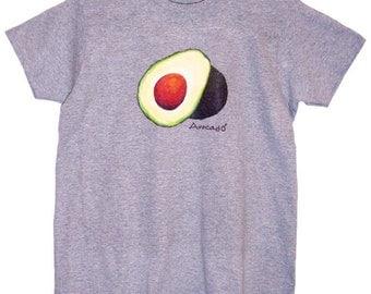 Avocado shirt, Women's Avocado T-shirt, Vegan Tee
