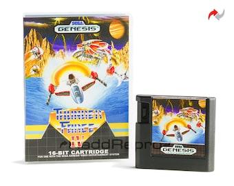 Thunder Force IV EA Style Reproduction (Sega Genesis, 1992) Repro