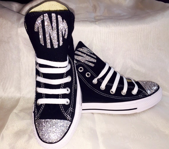 Monogrammed High Top Shoes For Teen Girls