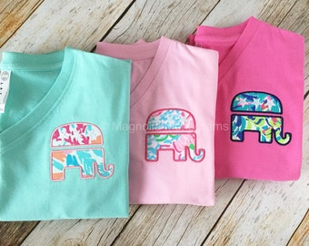 GOP, Preppy GOP Republican Elephant Shirt, Preppy Palm Beach shirt, GOP Elephant, Republican Shirt, Elephant