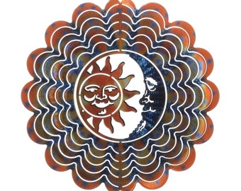 Next Innovations Blue and Copper Sun and Moon Kaleidescope Eycatcher